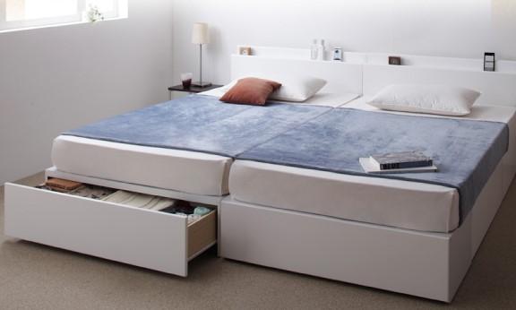 連結収納ベッド