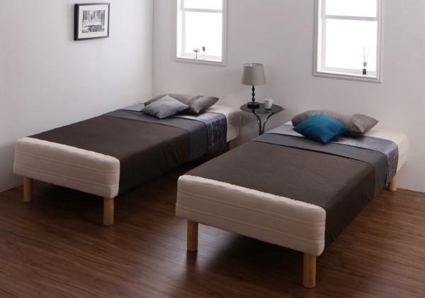 ベッド フレーム マットレスベッド