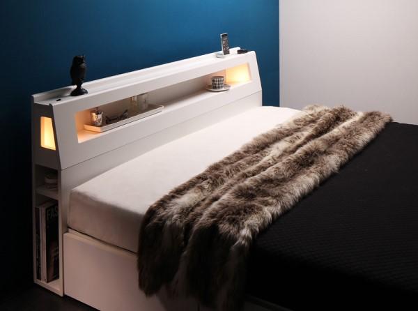 ベッド フレーム 棚付3