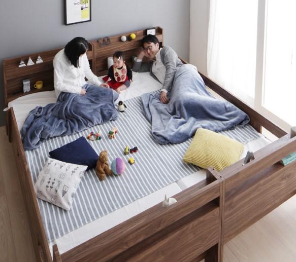 二段ベッド 添寝 ワイドキングサイズ 2